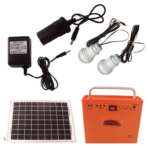 Mauk Tragbares Solar Set 8W - Solaranlage
