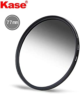 KASE 77mm Slim MC Grad ND Filter 1.2 4 Stop GND Neutral Density GND16 Schott B270 Optical Glass Waterproof Scratchproof Nano Multi-Coatings