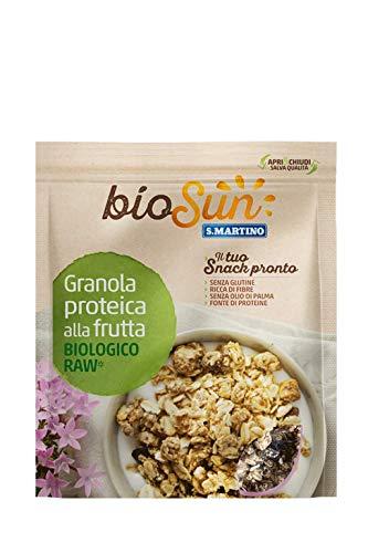 S.Martino Biosun Granola Proteica alla Frutta Biologico - 250 Gr