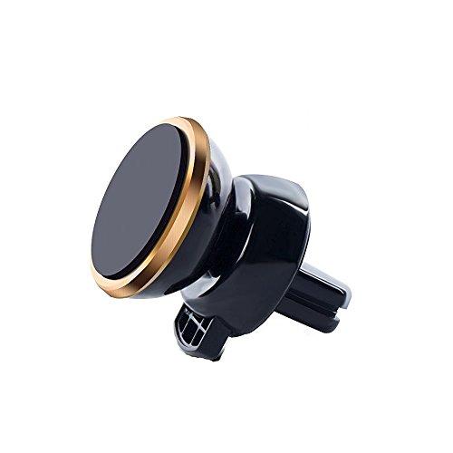 XMDZ - Soporte de teléfono para Coche magnético para Rejilla de ventilación Redonda Universal para iPhone, Galaxy Note/Edge, Google Pixel, Huawei
