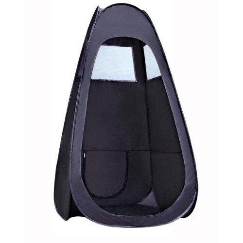 Koval Inc Black Airbursh Mobile Sunless Tanning Booth