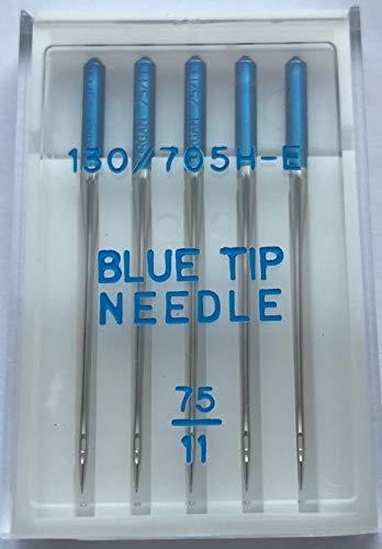 Nähmaschinennadeln Organ, Blue Tip/Sticknadeln, Stärke 75#142