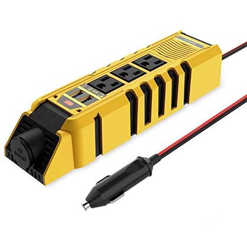 ZWwei Herramientas de coche y equipo 150 W 12 V a 110 V dual USB AC salida conversión coche inversor piezas coche kits herramientas coche
