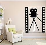 pegatinas de pared star wars Resumen Vintage película cámara símbolo cine película decoración...