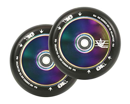 Blunt 110mm Stunt-Scooter Rolle Hollow (Oilslick Rainbow Neochrom)