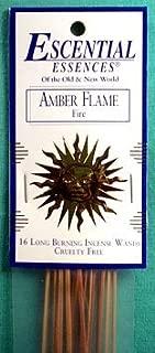 Sage Cauldron Amber Flame Escential Essences Incense Sticks