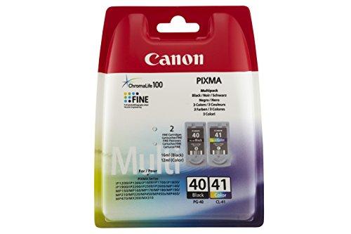 Canon Ink Cartridge Photo Paper Combo Pack - Cartuccia di inchiostro per stampanti (Nero, Ciano, Magenta, Giallo, getto di inchiostro), black, ad inchiostro