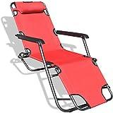 DJLOOKK Sillones Plegables, sillón reclinable Plegable, sillón Zero Gravity,...