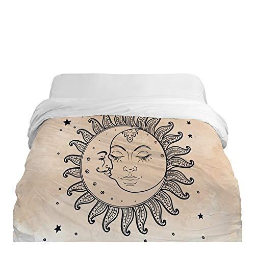 3D-Bettbezug Decke/Tröster Abdeckung 220x240 (Color : 38, Size : 155x215cm)