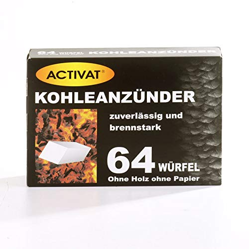 Actieve kolenaansteker, dubbelvoordeelverpakking - 64 dobbelstenen