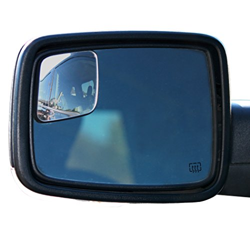 WadeStar RM10 Blind Spot Mirrors for 2009-2018 Ram Trucks with Non-Towing Mirrors