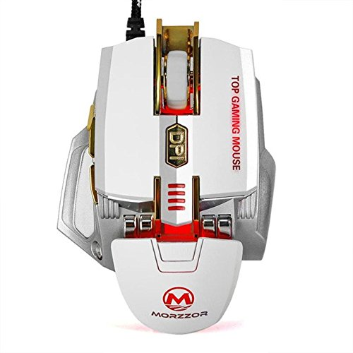 High Quality 4000 DPI 7D Buttons LED Mechanical Wired Gaming Mouse For PC Laptop