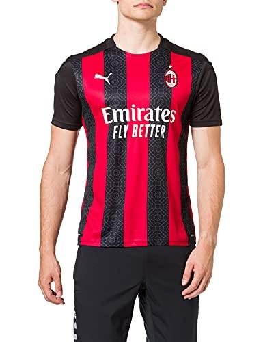 PUMA Acm Home Shirt Replica Player1 Camiseta, Hombre, Tango Red Black, M