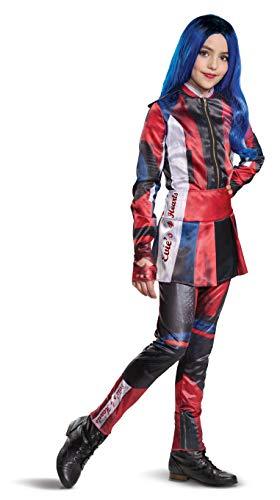 Kids' Deluxe Disney Descendants Evie Halloween Costume Jumpsuit L (10-12)