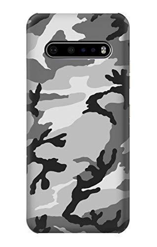 Innovedesire Snow Camo Camouflage Graphic Printed Hülle Schutzhülle Taschen für LG V60 ThinQ 5G