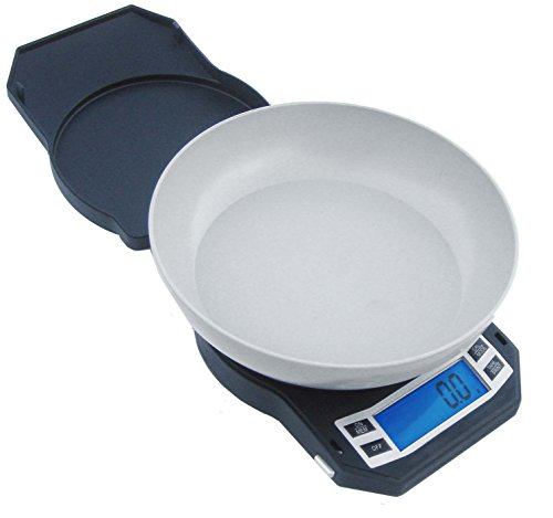 American Weigh Scales LB Series Digital Kitchen Food Weight Scale, Gray 1000 x 0.1 G (LB-1000)