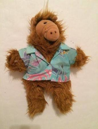 Vintage Alf Puppet in Hawaiian Shirt
