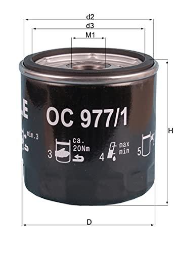 Mahle Knecht OC 977/1 Öllfilter