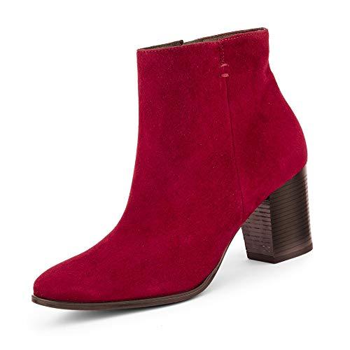 Paul Green 9623 Damen Stiefelette Rot, EU 38