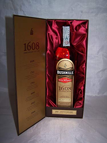 Bushmills 1608 400th Anniversary Edition Irish Whiskey 46% vol. 0,7l