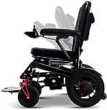 Silla de ruedas eléctrica for los adultos, la fibra de carbono plegable Silla de ruedas...