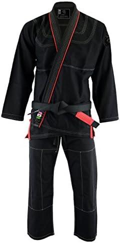 PFG Premium Brazilian Jiu Jitsu BJJ Kimono Gi Uniform Kids Adults Unisex Uniform Black A 2 product image