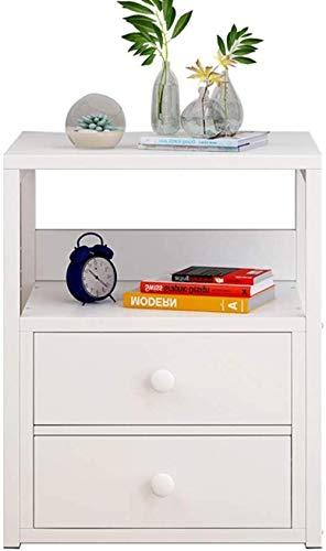 Nachttisch, minimalistischer Mini-Aufbewahrungsschrank, Schlafzimmer, Nachttisch, modern, kleiner Schrank, 50 x 35 x 40 cm, Beistelltisch