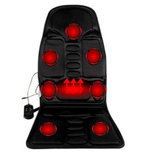 GHqY Autositz-Massagegerät, Elektrische Heizung Auto Massagekissen Winter Multifunktionale Knetmassagekissen Geeignet Für Die Meisten Autos Auf Dem Markt
