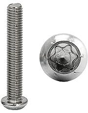 FASTON Vlakke kop schroeven binnenzeskant (TORX) roestvrij staal A2 V2A lenskop ronde kop schroeven platte kop schroeven TX flensschroeven