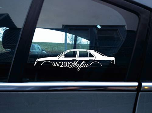 Turnerco W210 Mafia Aufkleber – für W210 Limousine | Limousine (1996–2003)
