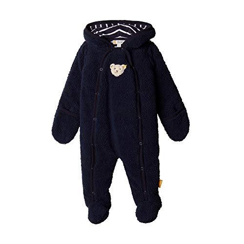 Steiff Baby-Jungen Einteiler Spieler, Blau (BLACK IRIS 3032), 74 (Herstellergröße:74)