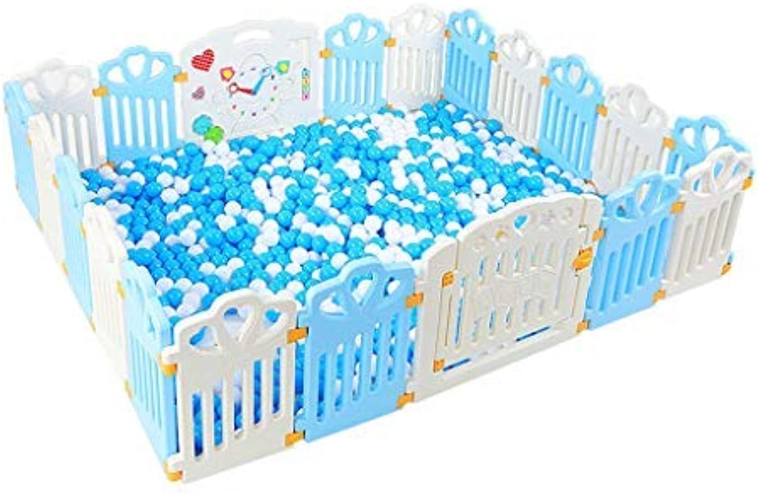 Playground Playground Playground Everywhere Plastic Plastic Plastic Plate bluee White Outdoor Inner Wall, 4 Sizes (color  D) 039e50