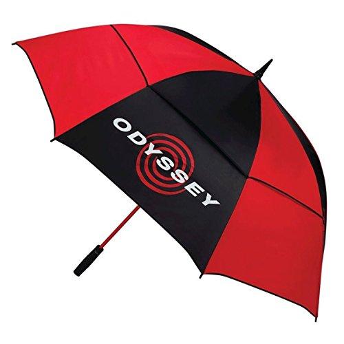 Odyssey 68 paraplu, zwart/rood, eenheidsmaat