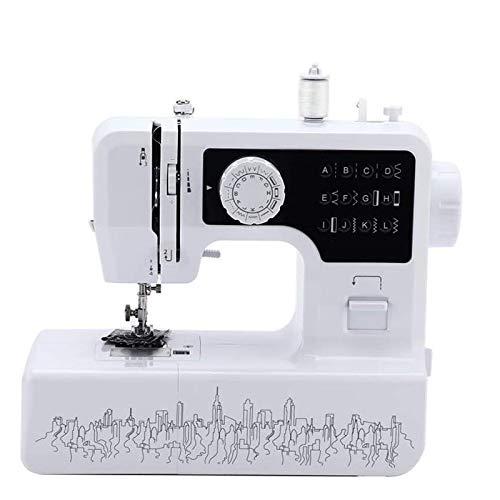 LYXIANG Máquina De Coser De Múltiples Funciones Eléctrico Máquina De Coser con Costura Automática De Doble Rosca Multi-Punto En La Máquina De Coser A Medida