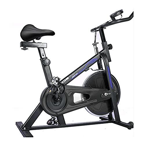 Bicicleta Spinning Estática Keboo Serie 300 con Volante de Inercia de 6 kg Asiento y Manillar Ajustable y Pantalla