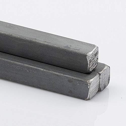 Stahl Vierkant 10 x 10 mm 1000 mm lang
