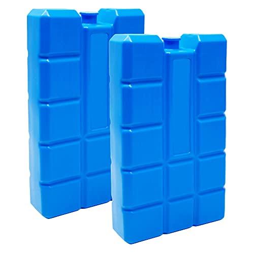 ToCi Lot de blocs réfrigérants pour sac isotherme ou glacière de 400 ml chacun Lot de 2