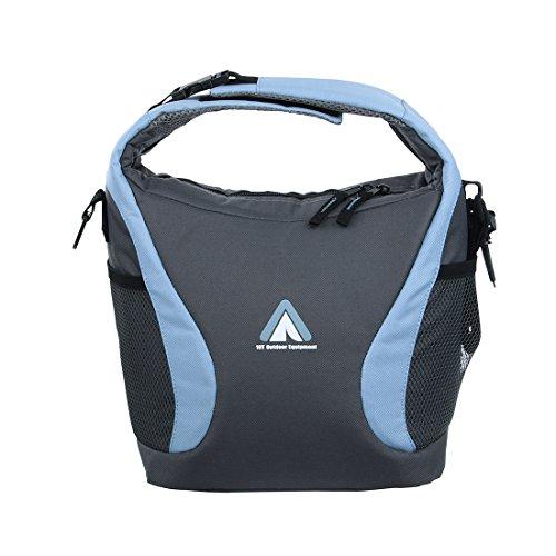 10T Fridgo Bag 10 L Kühltasche faltbare Thermotasche passive Kühlbox Umhängetasche mit Tragegriff