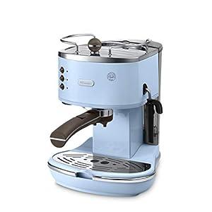 DeLonghi ECOV 311.AZ Independiente Manual Máquina espresso 1.4L Azul – Cafetera (Independiente, Máquina espresso, 1,4 L, De café molido, Azul)