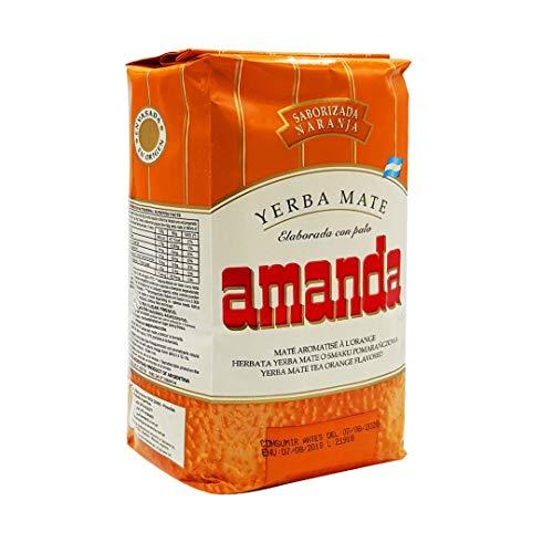 Yerba mate Amanda Naranja 500gr
