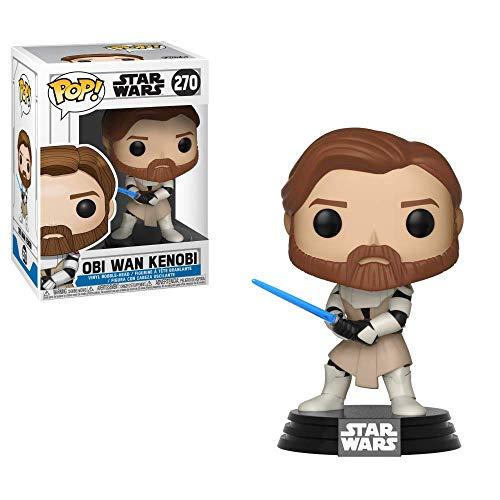 Funko Pop Star Wars: Clone Wars - Obi Wan Kenobi Nc Games Padrão
