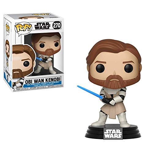 Pop! Star Wars The Clone Wars - Figura de Vinilo OBI Wen Kenobi