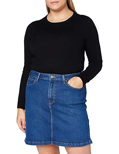 Lee A Line Zip Skirt Falda, Dark Dora, 33 para Mujer