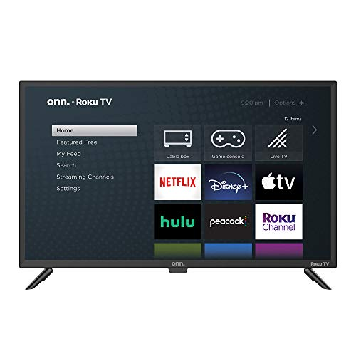 onn Pantalla LED 24' HD Smart TV ROKU 720P Mod. 100012590