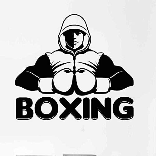 Boxeo Deportes Kick Boxer Guante de juego Combate libre Ali Tyson Etiqueta de la pared Vinilo Calcomanía del coche Dormitorio Culturismo Fitness GYM Club Decoración para el hogar Mural
