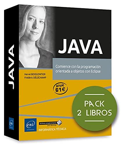 Java - Pack de 2 libros: comience con la programación orientada a objetos con Eclipse