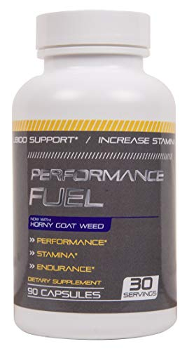 Performance Fuel Male Enhancing Pills- Enlargement Booster for Men - Increase Size, Strength, Stamina - Energy, Mood, Endurance Boost - All Natural Performance Supplement 90 Capsules Manufactured USA