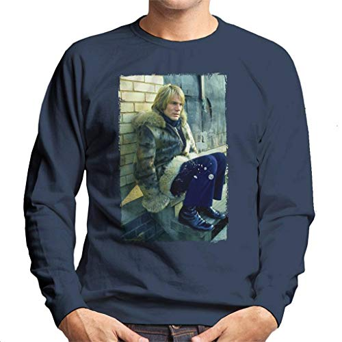 TV Times Adam Faith Appearing in TV Series Budgie Men's Sweatshirt