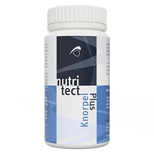 nutritect KnorpelPlus - Förderung der Regeneration deiner Gelenke und des Knorpelaufbaus | Mit Glucosamin und Vitamin E | Hergestellt in Bayern