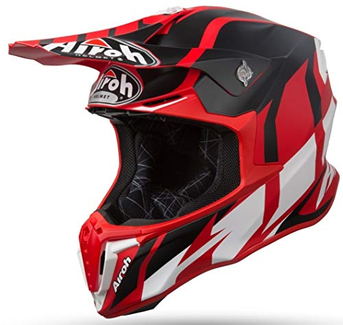 Airoh HELMET TWIST GREAT RED MATT XL